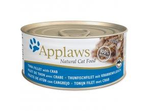 Konzerva APPLAWS Cat Tuna & Crab-70g
