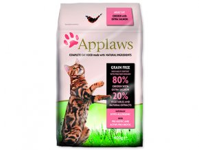 APPLAWS Dry Cat Chicken & Salmon-400g