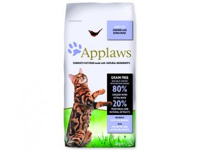 APPLAWS Dry Cat Chicken with Duck-2kg