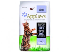 APPLAWS Dry Cat Chicken with Duck-7,5kg