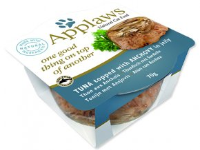 Kalíšek APPLAWS Cat Tuna with Anchovy Layer-70g