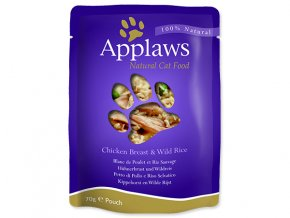 Kapsička APPLAWS Cat Chicken-70g