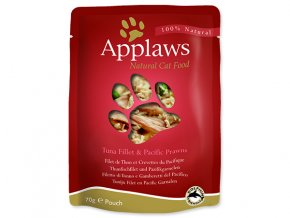 Kapsička APPLAWS Cat Tuna & Pacifc Prawn-70g