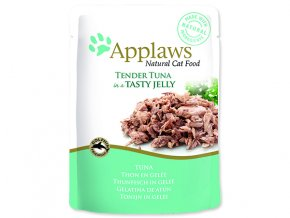 Kapsička APPLAWS Cat Pouch Tuna Wholemeat in Jelly-70g
