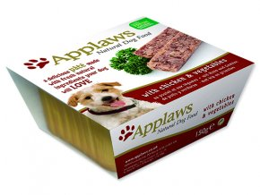 Paštika APPLAWS Dog Pate with Chicken & Vegetables-150g