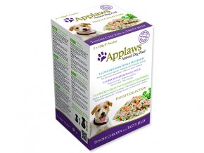 Kapsičky APPLAWS Dog Jelly Finest Selection multipack-500g
