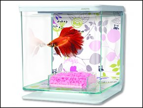 Akvárium MARINA Betta Kit Floral-2l