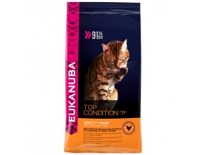 EUKANUBA Cat Adult Top Condition 1+-400g