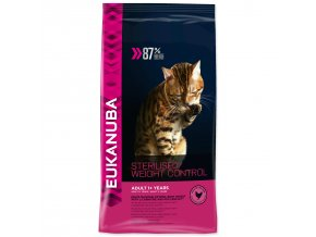 EUKANUBA Cat Adult Sterilised / Weight Control-400g