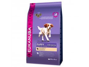EUKANUBA Puppy & Junior Lamb & Rice-2,5kg