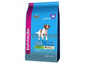 EUKANUBA Mature & Senior Lamb & Rice-2,5kg