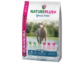 EUKANUBA Nature Plus+ Puppy Grain Free Salmon-2,3kg