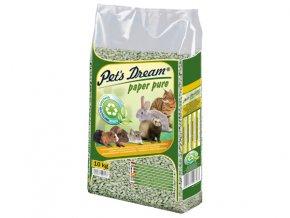 Pelety JRS Pet`s Dream Paper Pure-10kg