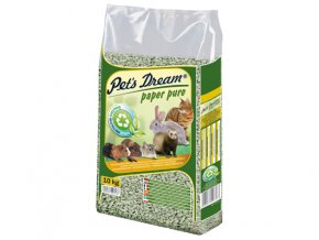 Pelety JRS Pet`s Dream Paper Pure-10kg