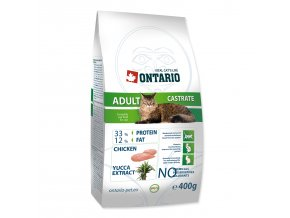 ONTARIO Cat Adult Castrate-400g