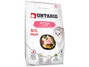 ONTARIO Kitten Chicken-0,4kg