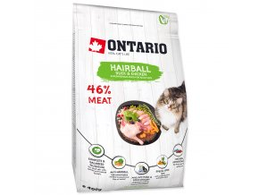 ONTARIO Cat Hairball-0,4kg