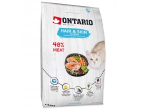 ONTARIO Cat Hair & Skin-6,5kg