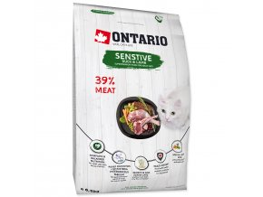ONTARIO Cat Sensitive / Derma-6,5kg