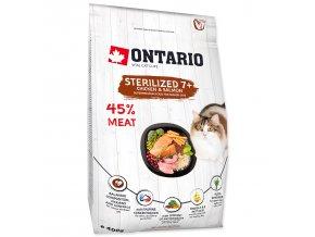 ONTARIO Cat Sterilised 7+-0,4kg