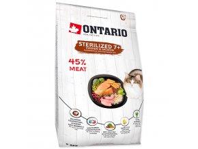 ONTARIO Cat Sterilised 7+-2kg