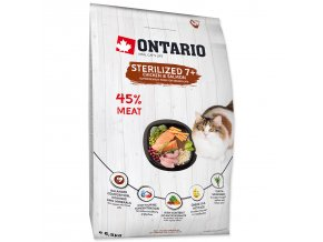 ONTARIO Cat Sterilised 7+-6,5kg
