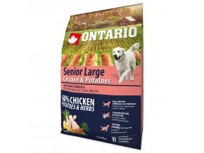 ONTARIO Senior Large Chicken & Potatoes & Herbs-2,25kg