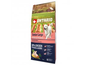 ONTARIO Senior Large Chicken & Potatoes & Herbs-12kg