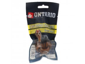 Snack ONTARIO Dog Rawhide Ball 3,75 cm-2ks