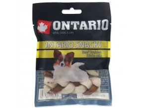 Snack ONTARIO Dog Rawhide Braided Stick Mix 7,5 cm-4ks
