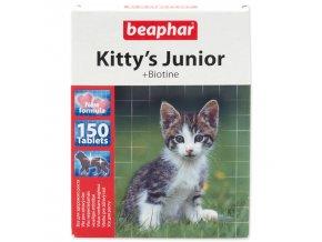 Pochoutka BEAPHAR Kitty´s Junior biotin-150tablet