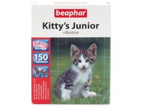 Pochoutka BEAPHAR Kitty´s Junior biotin-150tablet