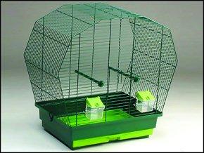 Klec BIRD JEWEL K6 tmavě zelená-1ks