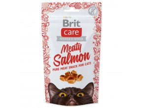 BRIT Care Cat Snack Meaty Salmon-50g