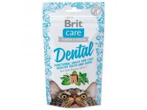 BRIT Care Cat Snack Dental-50g