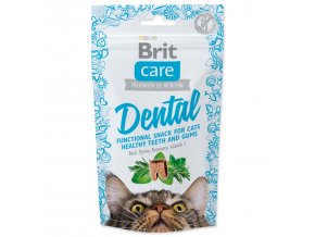 BRIT Care Cat Snack Dental-50g