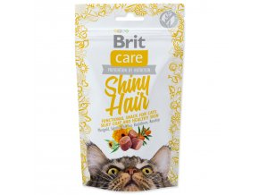 BRIT Care Cat Snack Shiny Hair-50g