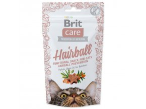 BRIT Care Cat Snack Hairball-50g