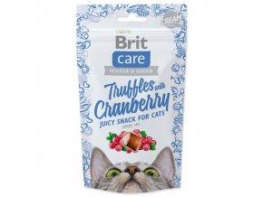 BRIT Care Cat Snack Truffles Cranberry-50g