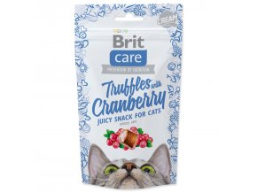 BRIT Care Cat Snack Truffles Cranberry-50g