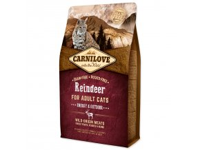 CARNILOVE Reindeer Adult Cats Energy and Outdoor-2kg