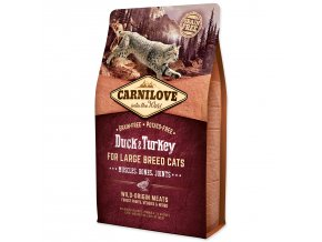 CARNILOVE Duck and Turkey Large Breed Cats Muscles, Bones, Joints-2kg