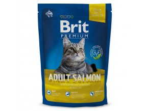 BRIT Premium Cat Adult Salmon-1,5kg