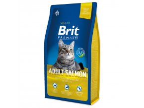 BRIT Premium Cat Adult Salmon-8kg