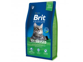 BRIT Premium Cat Sterilised-8kg
