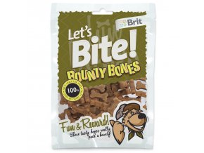 Snack BRIT Dog Let's Bite Bounty Bones-150g