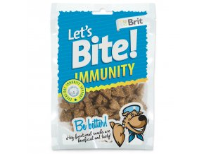 Snack BRIT Dog Let's Bite Immunity-150g