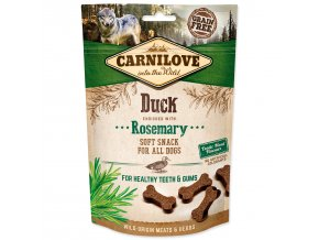 CARNILOVE Dog Semi Moist Snack Duck enriched with Rosemary-200g