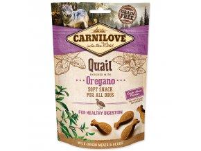 CARNILOVE Dog Semi Moist Snack Quail enriched with Oregano-200g