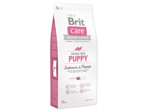 BRIT Care Grain-free Puppy Salmon & Potato-12kg